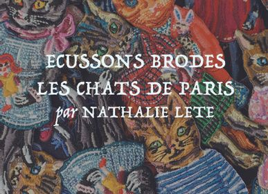 Jewelry - EMBROIDERED PATCHES BY NATHALIE LETE - BAZARTHERAPY EDITION