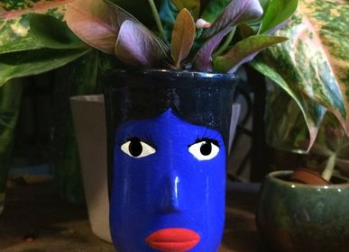 Decorative items - Blue Giant Head - TIENDA ESQUIPULAS