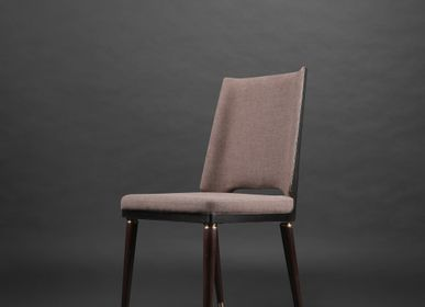 Chairs - Irving Fabric Dining Chair - MADHEKE