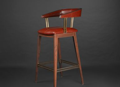 Stools - Pinio Bar Chair - MADHEKE