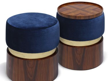 Stools for hospitalities & contracts - LUNE B STOOL - DUISTT