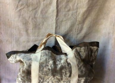 Bags and totes - JUDEE BITUMEN COATED COTTON CANVAS REVERSIBLE TOTE - ANNE BACQUIE