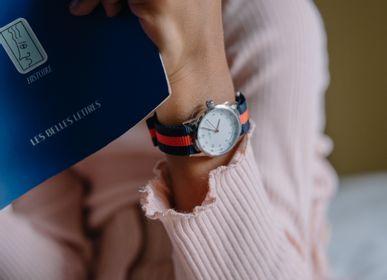 Accessoires enfants - Bracelet de montre Millow Rayé Rouge - MILLOW PARIS