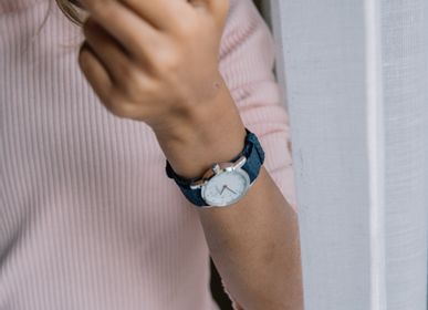 Accessoires enfants - Bracelet de montre Millow  Tressé Bleu - MILLOW PARIS