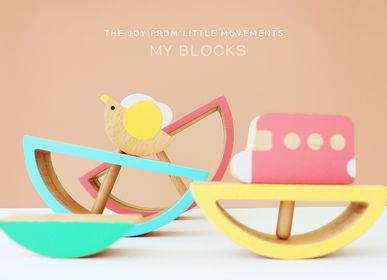 Kids accessories - MY BLOCKS (wooden toys) - ROUND GROUND