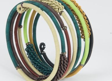"Jewelry - BRACELET ""SPIRAL COMBO"" IN TELEPHONE WIRE  - MAHATSARA"
