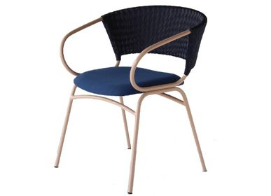 Armchairs - Adana Synthetic Rattan Arm Chair - VIVERE COLLECTION