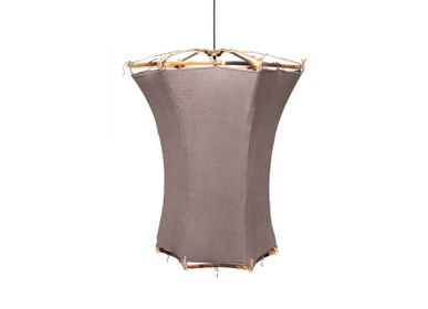 Design objects - Skardu Small bamboo hanging light - TRACES OF ME