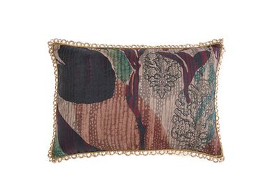 Cushions -  Winter Rain rectangular cushion cover - TRACES OF ME