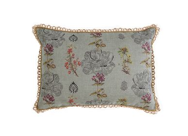 Cushions - Mistery flower rectangular cushion cover - TRACES OF ME