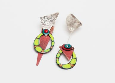 Jewelry - Green articulated earrings - ELZA PEREIRA