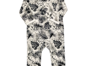 Children's fashion - Pyjamas - Tropical Black & White - CHANGE MA COUCHE