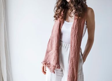 Apparel - WEST cotton scarf - BED AND PHILOSOPHY