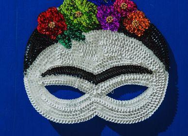 Autres décorations murales - Masque Frida - TIENDA ESQUIPULAS