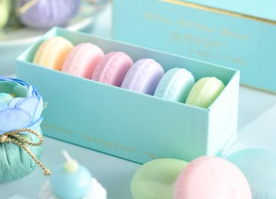 Soaps - Box of 6 macaroons soaps - ATELIER CATHERINE MASSON