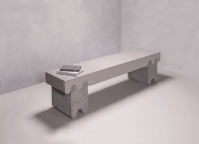 Design objects - OSSICLE LEATHER BENCHES - GIOBAGNARA