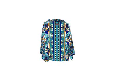 Prêt-à-porter - Kimono en soie EMPORTÉE PAR LA FOULTITUDE - CORALIE PREVERT PARIS