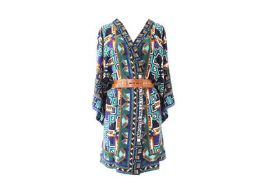 Ready-to-wear - Silk Kimono EMPORTÉE PAR LA FOULTITUDE - CORALIE PREVERT PARIS