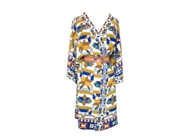 Prêt à porter - Kimono en soie À CŒUR VAILLANT, RIEN N'EST IMPOSSIBLE - CORALIE PREVERT PARIS