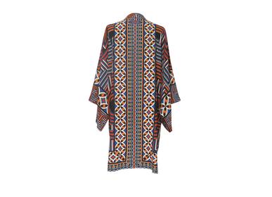 Apparel - Silk Kimono MINUTE - ON NE SE DOUTE PAS COMME C'EST LONG, UNE MINUTE. - CORALIE PREVERT PARIS