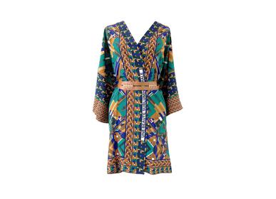 Ready-to-wear - Silk Kimono UNE BEAUTÉ SUBLUMINASTRALE - CORALIE PREVERT PARIS