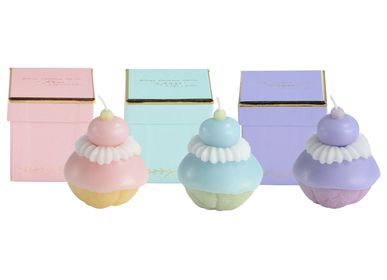 Gifts - Scented candles Religieuses and cupcakes - ATELIER CATHERINE MASSON