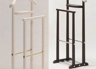Wardrobe - LEATHER CLOTHES VALETS & TOWEL RACKS - GIOBAGNARA