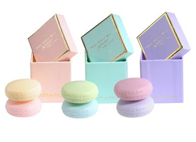Soaps - Box of 2 macaroons soaps - ATELIER CATHERINE MASSON