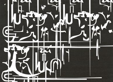 Autres tapis - TAPIS BLANC INK - RUG'SOCIETY