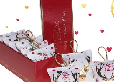 Christmas decoration - Heartcatcher, perfume diffuser, Oh my Deer! - ATELIER CATHERINE MASSON