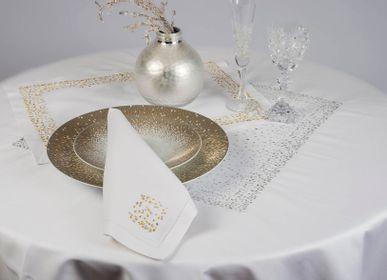 Linge de table textile - NAPPE ROSEE - RENAISSANCE