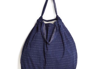 Bags and totes - serena navy beach bag - HELLEN VAN BERKEL