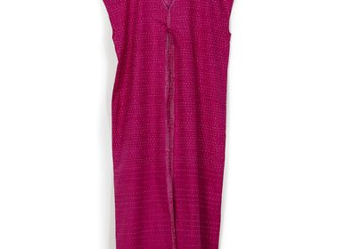 Homewear - serena cerise beach dress - HELLEN VAN BERKEL