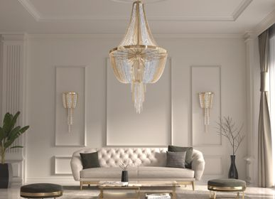 Chambres d'hotels - Gatsby Suspension - CASTRO LIGHTING