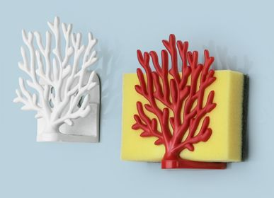 Decorative wall frescoes -  Coral Sponge Holder : Ocean Bathroom/Kitchen Collection : Eco-Friendly Materials 100% recyclable Decorate Home - QUALY DESIGN OFFICIAL