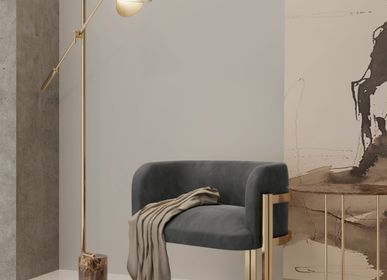 Hotel bedrooms - Savoye Floor Lamp - CASTRO LIGHTING