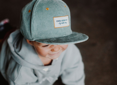 Children's fashion - Sweet Baby Blue Cap - HELLO HOSSY®