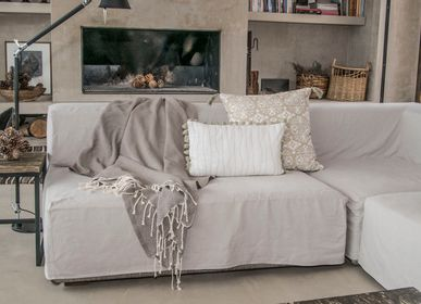 Homewear - Oslo Jacquard Throw - FEBRONIE