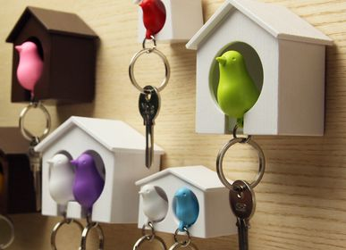Other wall decoration -  Sparrow Keyring : Key Ring Collection Decorate Home Organizer - QUALY DESIGN OFFICIAL