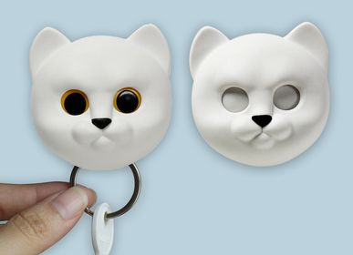 Other wall decoration - Neko Keyring : Key Ring Collection Decorate Home Organizer - QUALY DESIGN OFFICIAL
