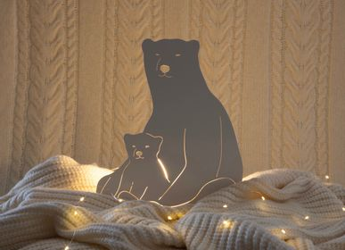 Other wall decoration - THE POLAR BEAR LAMP  - GOODNIGHT LIGHT