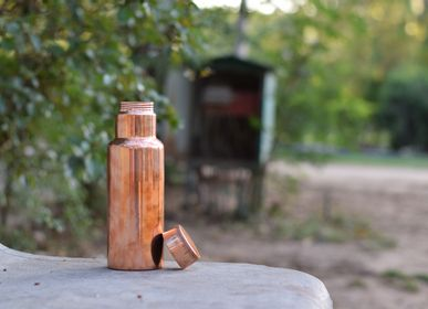 Carafes - Handcrafted Copper Bottle - DE KULTURE WORKS