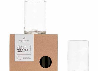 Cadeaux - Verre Upcycled à partir de bouteilles de vin - ORIGINALHOME