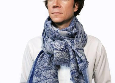 Scarves - ABSOLU CASHMERE WOOL SCARF - PETRUSSE PARIS