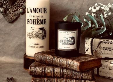 Decorative objects - Scented candle wax 100% vegetable - CARMEN - UN SOIR A L'OPERA