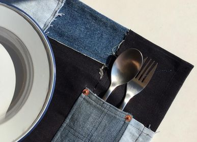 Sets de table - Signature - Upcycled Denim Placemat (Pack of 4) - RENIM PROJECT