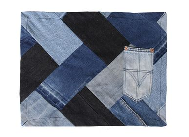 Placemats - Classic - Upcycled Denim Placemat (Pack of 4) - RENIM PROJECT
