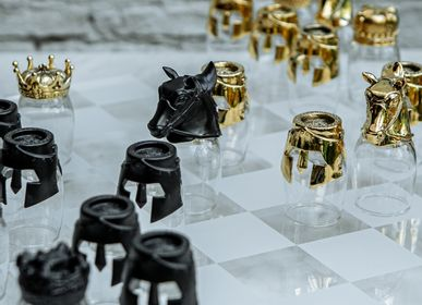 Wine - Knight shot glass, chess collection - 5IVE SIS