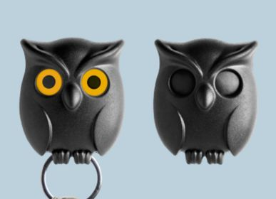 Objets déco - Hibou de nuit : collection porte-clés - QUALY DESIGN OFFICIAL