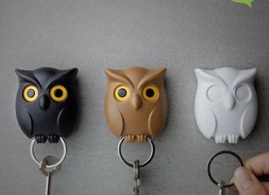 Other wall decoration - Night Owl : Key Ring Collection Organizer Decorate home - QUALY DESIGN OFFICIAL